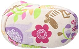 Zutano Baby Boys Lions Lullaby Bootie, Blush, 12 Months