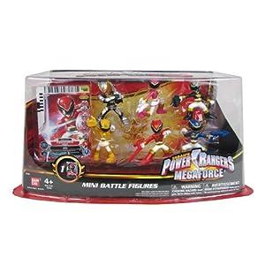 Power Rangers Megaforce Mini Battle-Ready Figures, 6 Pack
