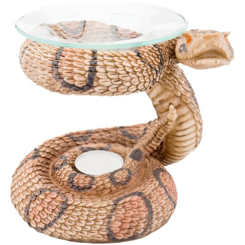 Snake Body Polyresin Oil Warmer front-1046904