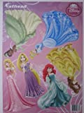 Disney Princess Fathead Set of 6- 11X17