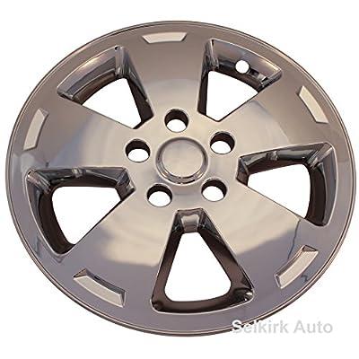 "Chrome 5 Flat Spoke 16"" inch Wheel Skin Hub Caps for 2006 - 2010 Chevrolet Impala"