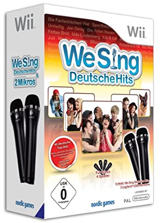We Sing - Deutsche Hits inkl. 2 Mikrofone