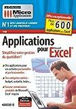 Applications pour Excel