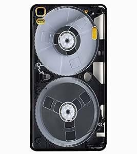 ColourCraft Retro Video Cassette Design Back Case Cover for LENOVO A7000