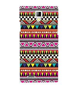 Festival Pattern 3D Hard Polycarbonate Designer Back Case Cover for Micromax Canvas Xpress A99