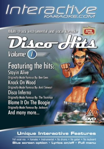 Interactive Karaoke - Disco Hits 1 [DVD]