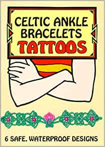 Celtic Ankle Bracelets Tattoos (Temporary Tattoos): Marty Noble