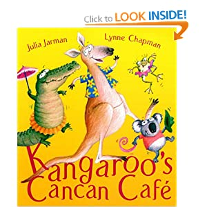 Kangaroo's Cancan Cafe Julia Jarman and Lynne Chapman