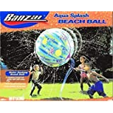 Aqua Splash Water Soaking Beach Ball by Banzai