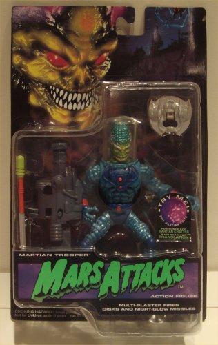 Mars Attacks Action Figure - Martian Trooper (Talking) - 1
