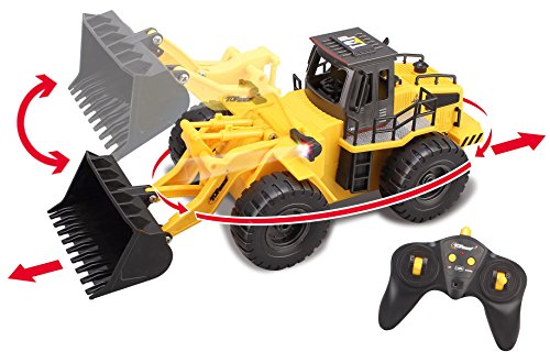 Top-Race-6-Channel-Full-Functional-Front-Loader-RC-Remote-Control-Construction-Tractor-with-Lights-Sounds-24Ghz-TR-113G