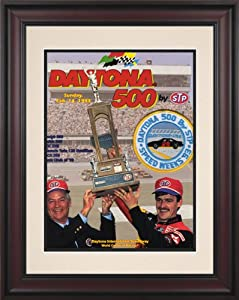 NASCAR Daytona 500 Program Framed Vintage Advertisement Race Year: 35th Annual - 1993 by Mounted Memories