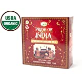 Pride Of India - Organic Assam Breakfast Black Tea, 100 Tea Bags