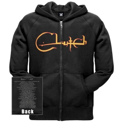 Old Glory Mens Clutch - Arabic Zip Hoodie - 3X-Large Black