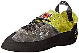 Five Ten Men\'s Rogue Lace Climbing Shoe,Green/Charcoal,10 M US