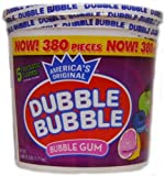 Dubble Bubble 380 Count Tub - Fruitastic Flavors