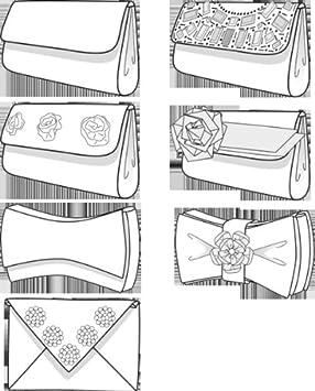 burda schnittmuster 7543 taschen clutch k che. Black Bedroom Furniture Sets. Home Design Ideas