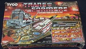 1985 G1 Tyco TRANSFORMERS Electric Train & Battle Set