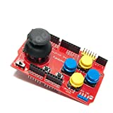 Arduino Campatible Joystick Shield - With Nokia 5110 & nRF24L01 Interfaces