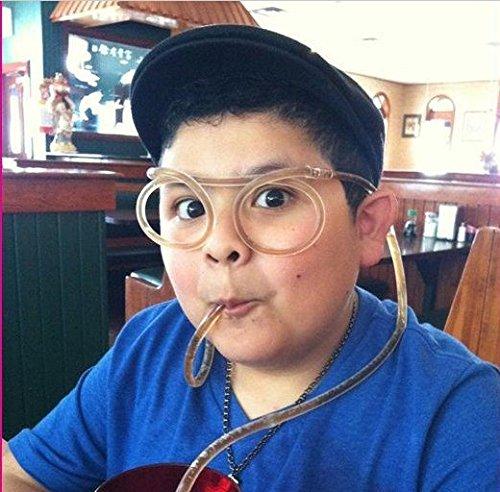 "Priorsâ""¢ Plastic DIY Drinking Straw Eyeglasses, Straw Glasses,Amazing Straw Glasses (blue)"