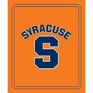 Syracuse Orangemen NCAA Classic Fleece Blanket by Logo Chair