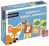 Nathan - 31053 - Mémo des  Bébés Animaux - Jeu Éducatif d'occasion  Livré partout en France