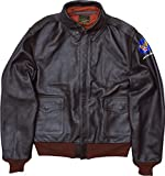 TOYS McCOY #TMJ1519 A-2 フライトジャケット TOYS McCOY BROWN RIB.DECAL38051シールブラウン