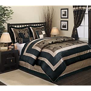 Nanshing America Pastora 7-Piece Queen Comforter Set