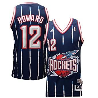 Houston Rockets Dwight Howard Hardwood Classics HWC Adidas Swingman Jersey by adidas