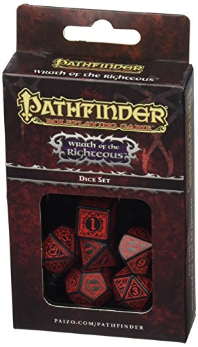 Set de Dados (7) Pathfinder: Wrath of the Righteous
