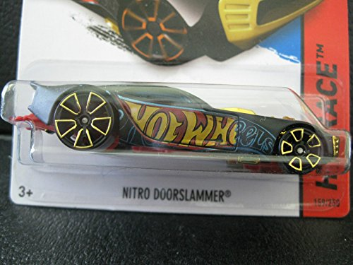 2014 Hot Wheels Hw Race - Nitro Doorslammer - Black - 1