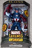 "Marvel Icons 12"" Series 1 - Masked Captain America"