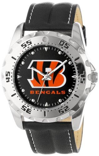 Game Time Men'S Nfl-Wwg-Cin Cincinnati Bengals Analog Strap Watch And Wallet Set
