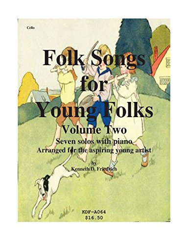 Folk Songs for Young Folks, Vol. 2 - cello and piano