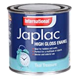 INTERNATIONAL JAPLAC HIGH GLOSS ENAMEL 250ML TEAL TREASURE