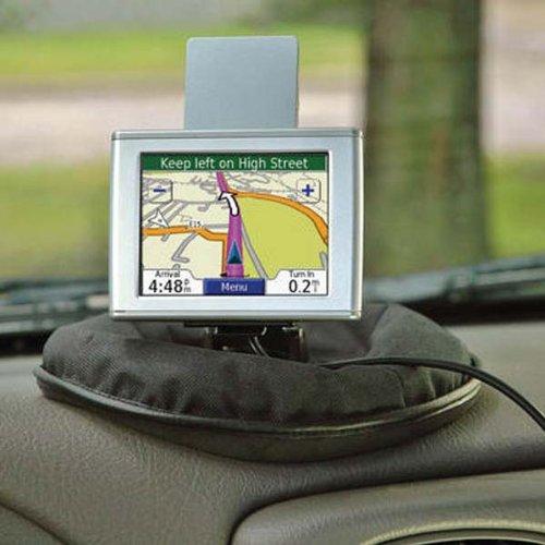 PORTABLE GPS HOLDER Friction DASH Pad MOUNT for Garmin, TomTom, Magellan GPS & More!