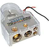 BT1488-DIG 1/0/4/8 Gauge Positive & Negative Battery Terminal w/ Digital Display
