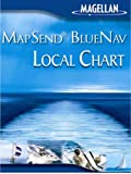 Magellan MapSend BlueNav XL Chart North Carolina Salt/Freshwater Map microSD Card