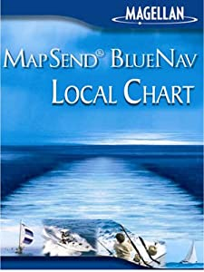 Magellan MapSend BlueNav XL Chart Lake Michigan Freshwater Map microSD Card