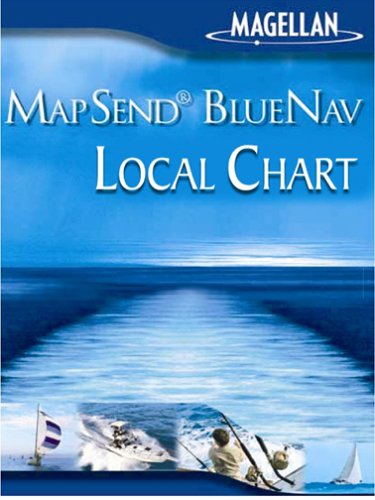 Magellan MapSend BlueNav Local Chart Eleuthera/Cat Islands Freshwater Map microSD Card
