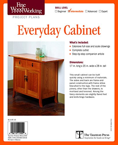 Fine Woodworking's Everyday Cabinet Plan