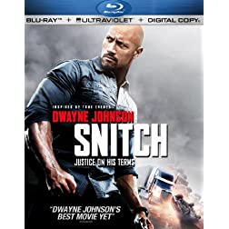 Snitch [Blu-ray + UltraViolet + Digital Copy]