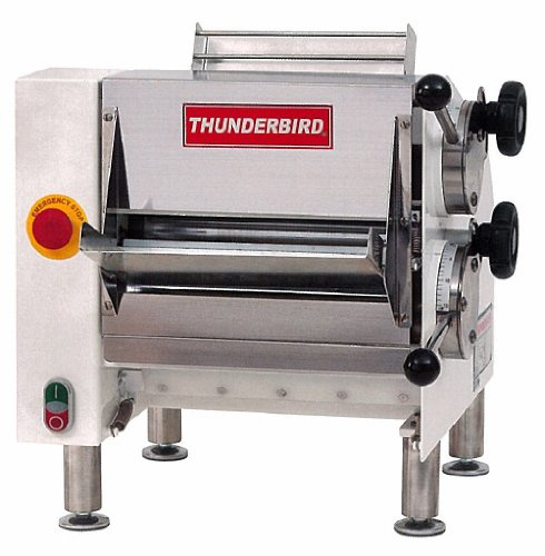 Thunderbird TBPR-680 2-Pass Pizza Dough Roller, Dough Sheets from 5-Inch Up to 11-Inch