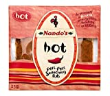 Nando's Hot Peri-Peri Seasoning Rub 25 g (Pack of 10)