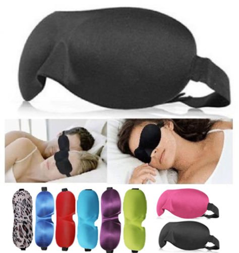 3D Eye Mask Shade Cover Rest Sleep Eyepatch Blindfold Shield Travel Sleeping Aid (Golden Flax From Canada compare prices)