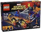 スーパーヒーローズ 76058 スパイダーマン ゴーストライダーとの団結