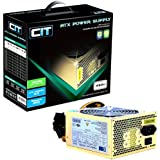 CIT 450w Gold 12CM Silent Atx Power Supply