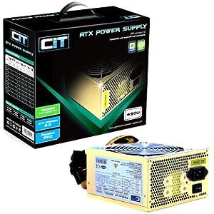 CIT 450w Gold 12CM Silent Atx Power Supply