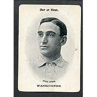 1906 WG3 Fan Craze Jake Stahl Senators VG-EX 273531 Kit Young Cards