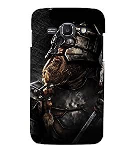EPICCASE Battle Warrior Mobile Back Case Cover For Samsung Galaxy Ace 3 (Designer Case)